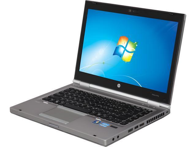 Refurbished: HP Grade B Laptop EliteBook 8470P Intel Core i5 2 60 GHz 4 GB  Memory 320 GB HDD 14 0