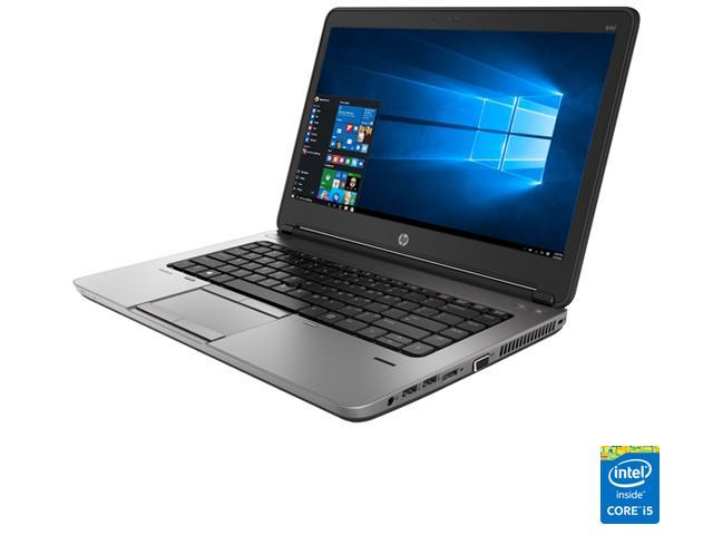 Refurbished: HP Laptop ProBook 640 G1 Intel Core i5 4th Gen 4300M (2 60  GHz) 4 GB Memory 500 GB HDD 14 0