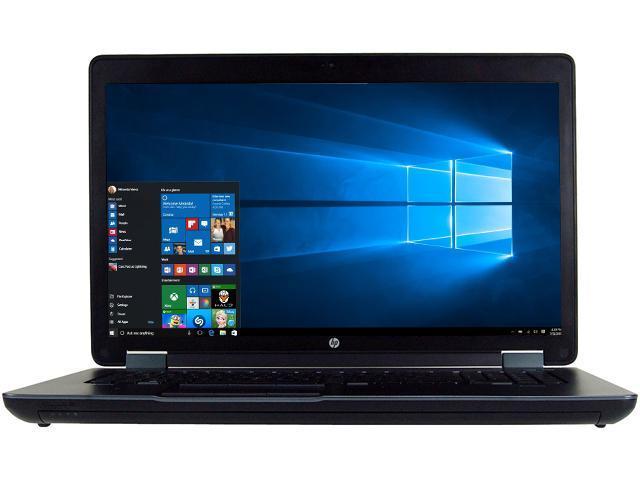 Refurbished Hp Zbook 17 G2 17 3 Windows 10 Pro 64 Bit B Grade Mobile Workstation Newegg Com
