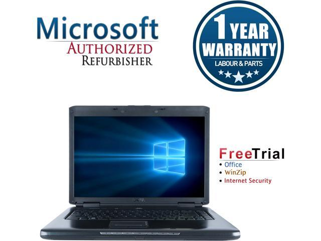 Refurbished: DELL Laptop Vostro 1500 Intel Core 2 Duo 1 60 GHz 2 GB Memory  80 GB HDD Integrated Graphics 15 4