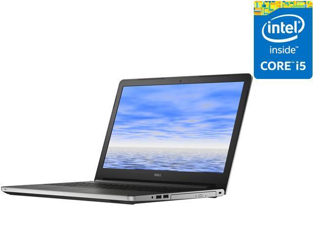 DELL Laptop Inspiron 15 i5558-2144SLV Intel Core i5 5th Gen 5200U (2 20  GHz) 8 GB Memory 1 TB HDD Intel HD Graphics 5500 15 6
