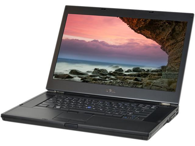 Refurbished: DELL Laptop E6510 Intel Core i5 2 40 GHz 4 GB Memory 160 GB  HDD Integrated Graphics 15 5