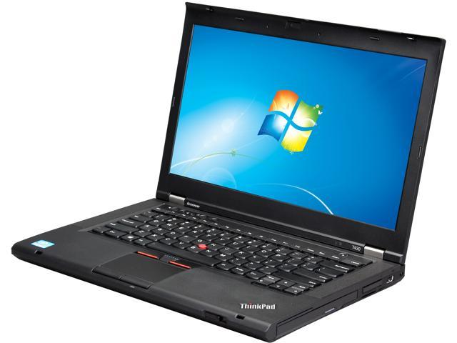 ThinkPad Laptop T Series T430 (23427YU) Intel Core i5 3rd Gen 3320M (2 60  GHz) 4 GB Memory 500 GB HDD Intel HD Graphics 4000 14 0
