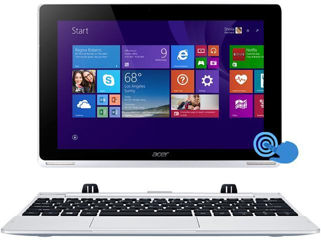 Acer Aspire Switch 10 (SW5-012-16AA) 2in1 Tablet Intel Atom Z3735F  (1 33GHz) 2 GB DDR3L Memory 32GB SSD Intel HD Graphics Shared memory 10 1