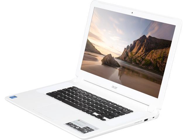 Acer Chromebook 15 CB5-571-C9DH Certified Refurbished Chromebook Intel  Celeron 3205U (1 50 GHz) 2 GB Memory 16 GB SSD 15 6