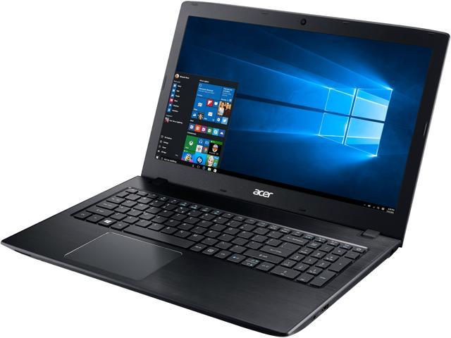 "Acer Laptop Aspire E 15 E5-575G-52RJ Intel Core i5 6th Gen 6200U (2.30 GHz) 8 GB Memory 1 TB HDD NVIDIA GeForce 940MX 15.6"" Windows 10 Home ONLY @ NEWEGG"