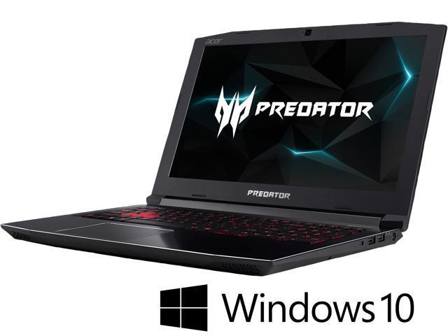Acer Predator Helios 300 Ph315 51 74v4 15 6 144 Hz Fhd Ips Gtx 1060 6 Gb Vram I7 8750h 16 Gb Memory 1 Tb Hdd 256 Gb Ssd Windows 10 Home Gaming