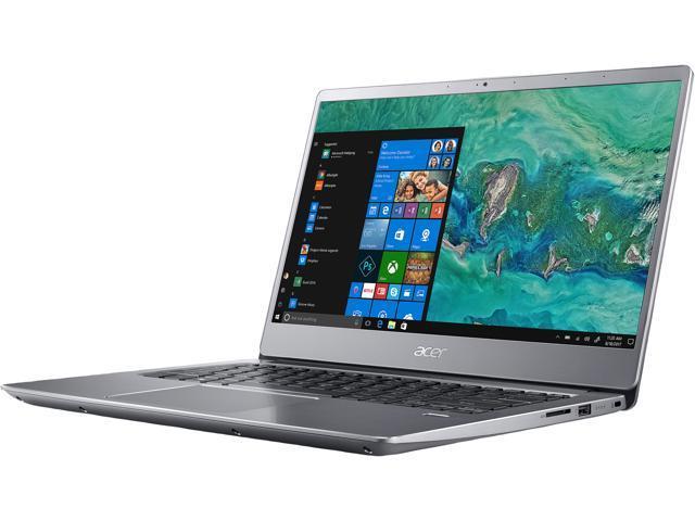 Acer Laptop Swift 3 SF314-54-56L8 Intel Core i5 8th Gen 8250U (1 60 GHz) 8  GB Memory 256 GB SSD Intel UHD Graphics 620 14 0