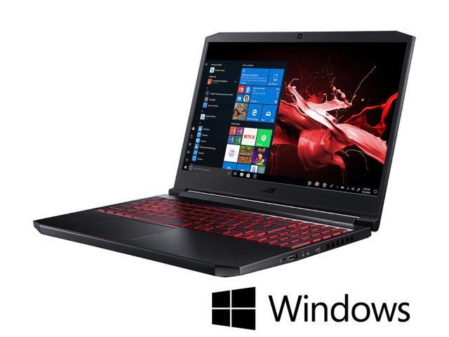 "Acer - Gaming Laptop - 15.6"" FHD IPS, Intel Core i7-9750H (2.60 GHz),  NVIDIA GeForce GTX 1050, 8 GB RAM, 256 GB SSD, Windows 10 Home 64-bit,  Nitro 7 (AN715-51-70TG) - Newegg.com"