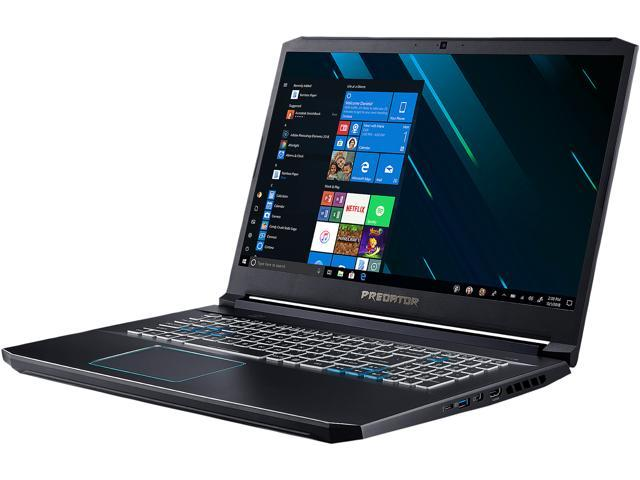 "Acer PH317-53-75RT 17.3"" 144 Hz IPS Intel Core i7 9th Gen 9750H (2.60 GHz) NVIDIA GeForce RTX 2060 16 GB Memory 512 GB PCIe SSD Windows 10 Home 64-bit Gaming Laptop"