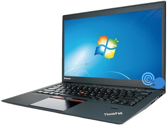 "Lenovo ThinkPad X1 Carbon Ultrabook- Intel Core i5 4GB RAM 120GB SSD 14"" LED Touchscreen Windows 7 Pro (3448CXU) – Black"