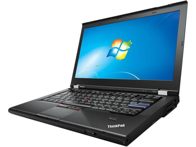 Refurbished: Lenovo Laptop T420 Intel Core i5 2nd Gen 2520M (2 50 GHz) 4 GB  Memory 320 GB HDD Intel HD Graphics 3000 14 0