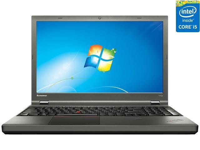ThinkPad Laptop T Series T540p (20BE00BTUS) Intel Core i5 4th Gen 4210M  (2 6 GHz) 4 GB Memory 500 GB HDD Intel HD Graphics 4600 15 6