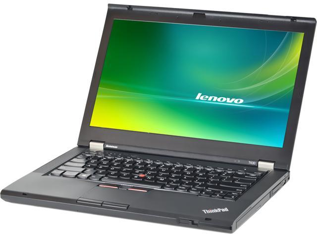Refurbished: Lenovo B Grade Laptop ThinkPad T430 Intel Core i5 3rd Gen  3320M (2 60 GHz) 4 GB Memory 320 GB HDD 14 0