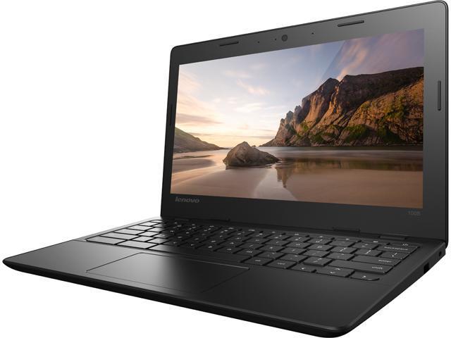"Lenovo IdeaPad 100s (80QN0009US) Chromebook Intel Celeron N2840 (2.16 GHz) 2 GB Memory 16 GB eMMC SSD 11.6"" Chrome OS"