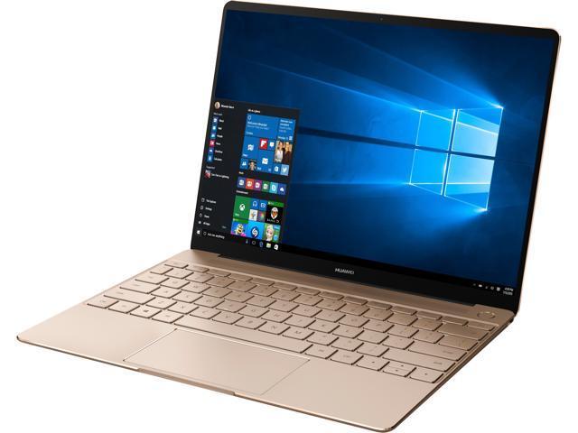 Huawei Laptop MateBook X Signature Edition Watt-W19A Intel Core i7 7th Gen  7500U (2 70 GHz) 8 GB LPDDR3 Memory 512 GB SSD Intel HD Graphics 620 13 0