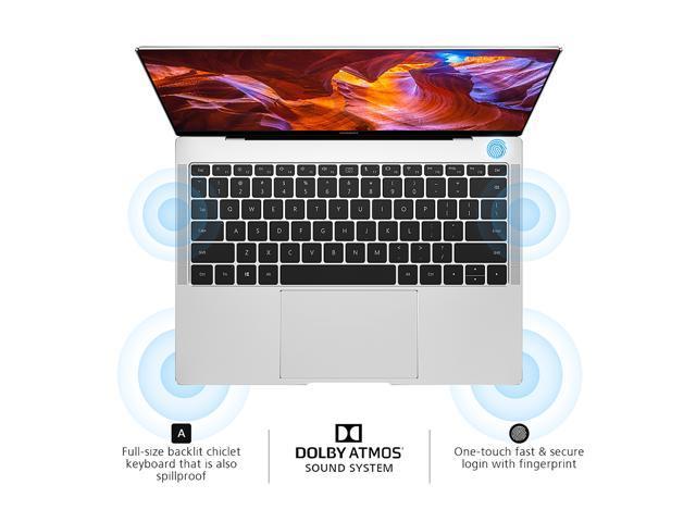 Huawei Laptop MateBook X Pro 53010BVV Intel Core i5 8th Gen 8250U (1 60  GHz) 8 GB Memory 256 GB PCIe NVMe SSD Intel UHD Graphics 620 13 9