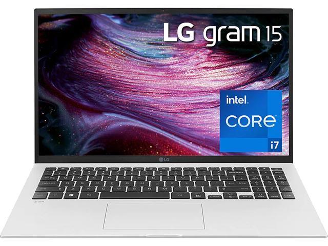 "Image of LG Laptop Gram 15Z90P-P.AA75A8 Intel Core i7 11th Gen 1165G7 (2.80 GHz) 16 GB Memory 512 GB PCIe SSD Intel Iris Xe Graphics 15.6"" Touchscreen Windows 10 Home 64-bit"