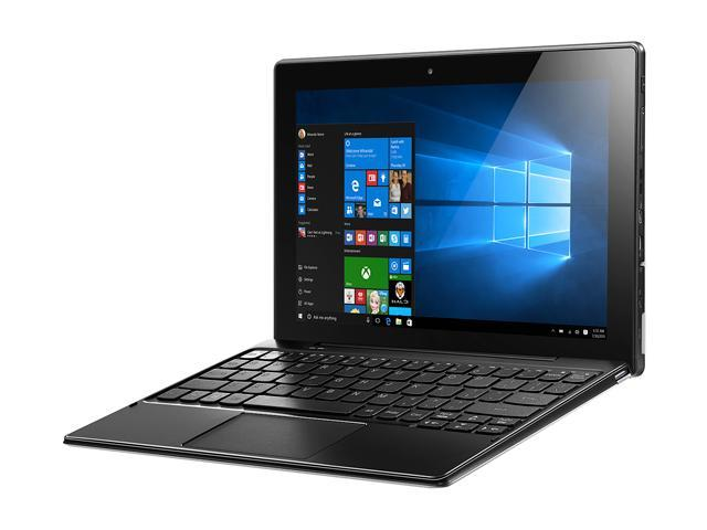 Lenovo Miix 310 (80SG001GUS) Intel Atom x5-Z8350 (1 44 GHz) 2 GB Memory 32  GB eMMC Intel HD Graphics 400 10 1
