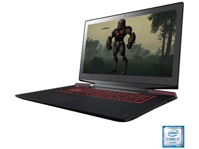 Lenovo Y700-17ISK (80Q000C0US) Gaming Laptop Intel Core i7-6700HQ 2 6 GHz  17 3