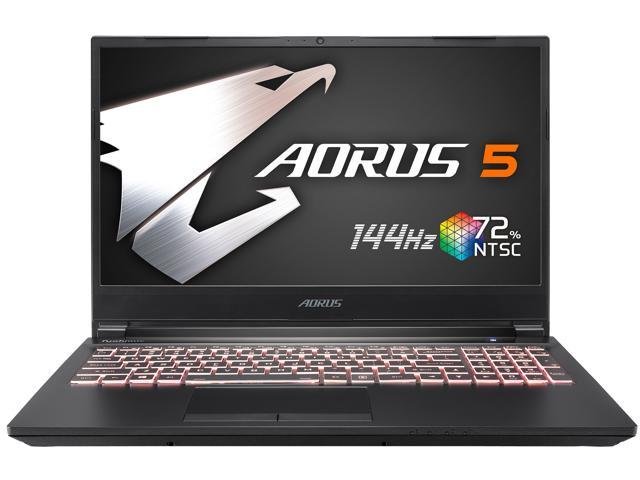 Gigabyte Aorus 5 15 6 144 Hz Intel Core I7 10750h Geforce Rtx 2060 16 Gb Ddr4 512 Gb Ssd Windows 10 Home Gaming Laptop Aorus 5 Kb 7us1130sh Only Newegg Newegg Com