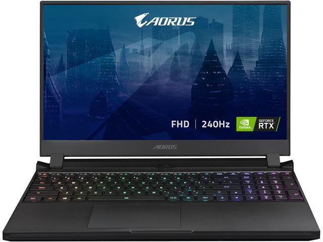 "GIGABYTE AORUS 15P XD - 15.6"" FHD IPS Anti-Glare 300Hz, Intel Core i7, NVIDIA GeForce RTX 3070 Laptop GPU 8GB GDDR6, 16GB Memory, 1TB SSD, Win10 Home, Gaming Laptop (AORUS 15P XD-73US324SH)"