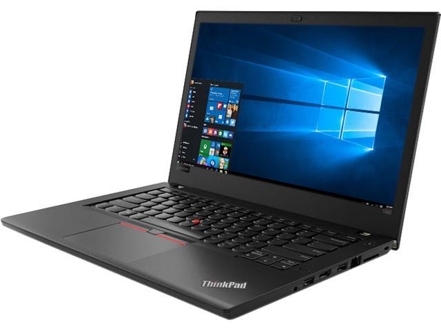 Lenovo Laptop ThinkPad T480 (20L5000WUS) Intel Core i5 8th Gen 8250U (1 60  GHz) 4 GB Memory 500 GB HDD Intel UHD Graphics 620 14 0