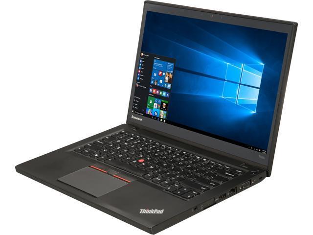 Refurbished: Lenovo Grade B Laptop T450s Intel Core i7 5th Gen 5600U (2 60  GHz) 12 GB Memory 360 GB SSD 14 0