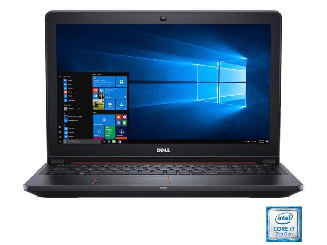 DELL i5577-7342BLK Gaming Laptop Intel Core i7-7700HQ 2 8 GHz 15 6