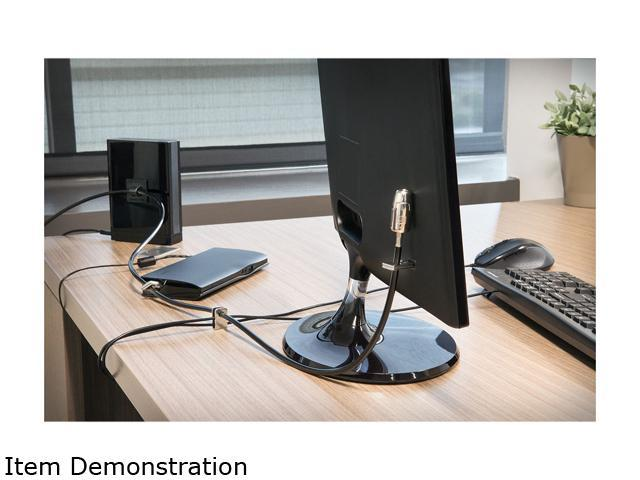 Limited Edition K64424WW Kensington Desktop /& Peripherals Locking Kit 2.0 Black