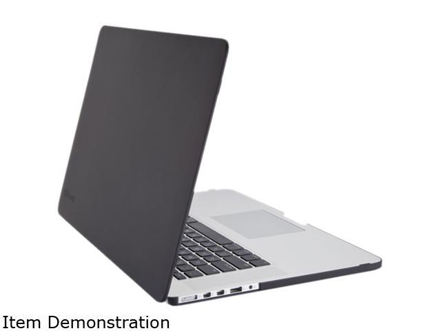 hot sales 84b16 c6df8 Speck Black SeeThru Satin Soft Touch, Hard Shell Case for MacBook Pro with  Retina Display Model SPK-A2701 - Newegg.com