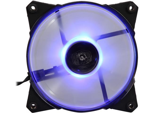 COOLER MASTER JetFlo 120 R4-JFDP-20PB-R1 Blue LED Case Fan - Newegg com