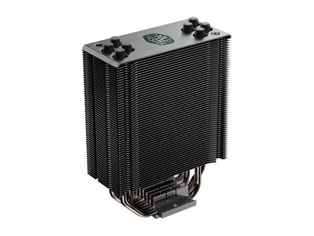 Renewed Cooler Master RR-212S-20PC-R1 Hyper 212 RGB Black Edition CPU Air Cooler 4 Direct Contact Heat pipes 120mm RGB Fan