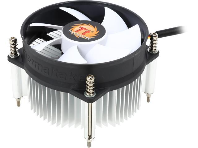 Thermaltake CLP0556 Intel LGA 1155 Aluminum CPU Processor Cooler with 92mm Fan