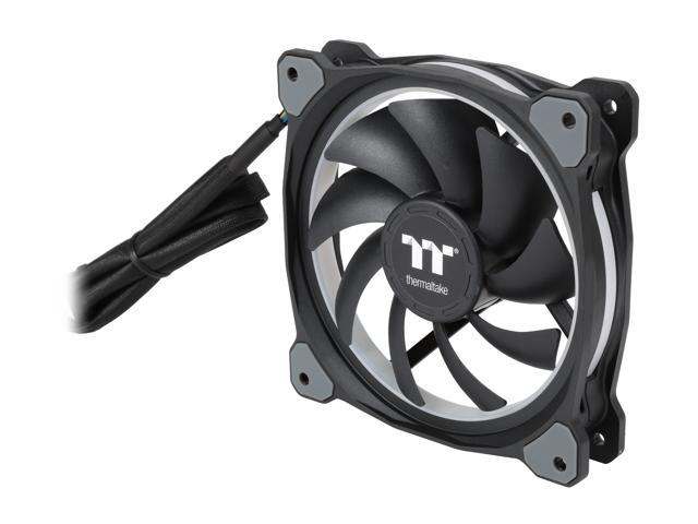 Thermaltake - CL-F053-PL12SW-A - Thermaltake Riing Plus 12