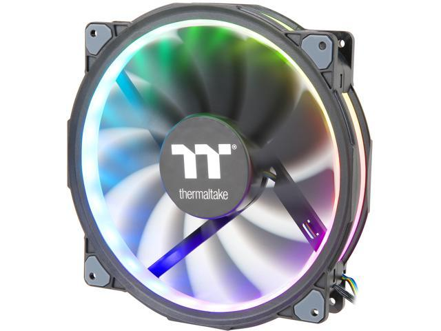Thermaltake Riing Plus 20 LED RGB Case Fan TT Premium Edition -  CL-F069-PL20SW-A (Single Fan Pack with Controller) - Newegg com