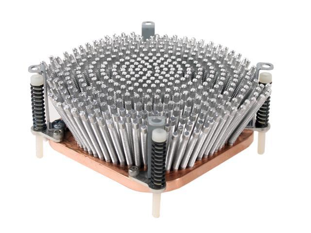 Includes mounting screws Pentium 2.4GHz Aluminum Heatsink with Copper Bottom