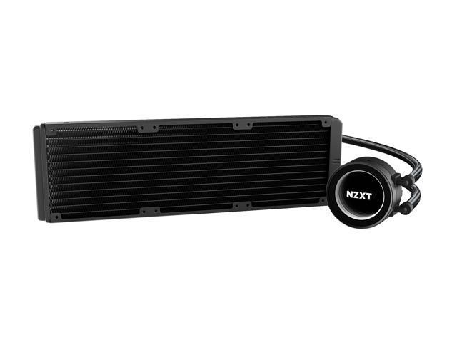 NZXT Kraken X72 360mm - All-In-One RGB CPU Liquid Cooler - CAM-Powered -  Infinity Mirror Design - Performance Engineered Pump - Reinforced Extended