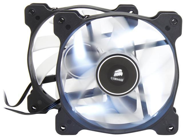 Corsair Air Series AF120 LED 120mm Quiet Edition High Airflow Fan Twin Pack  - White (CO-9050016-WLED) - Newegg com