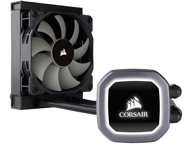 Corsair Hydro Series, H60 2018 (CW-9060036-WW), 120mm Radiator, Single  120mm PWM Fan, Liquid CPU Cooler - Newegg com
