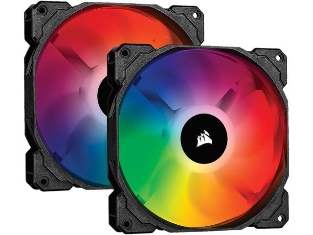 CORSAIR iCUE SP140 RGB PRO Performance 140mm Dual Fan Kit with Lighting  Node CORE - CO-9050096-WW - Newegg com