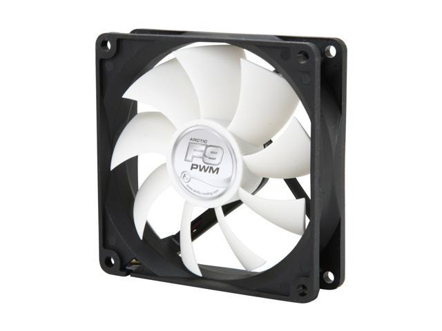ARCTIC F9 PWM Fluid Dynamic Bearing Case Fan, 92mm PWM Speed Control,  43 CFM at 23dBA