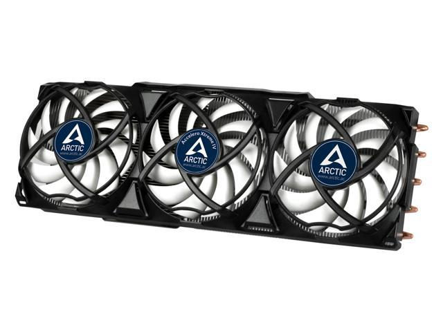 ARCTIC Accelero Xtreme IV Enthusiast VGA Cooler-nVidia/AMD, Triple 92mm PWM Fans, Patented Back-Side Heatsink, SLI/CrossFire