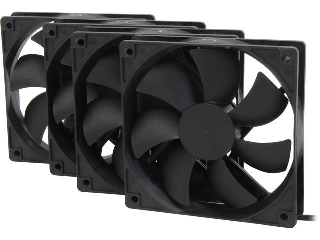 0274bf126235 Rosewill 120mm Case Fan 4-Pack, Long Life Sleeve Bearing Computer Case Fan  ROCF-13001, Ultra Quiet Computer Cooling Fan 4 Pack 120 mm Standard Case ...