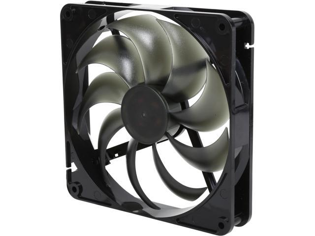 Rosewill RFA-80RL 120mm CULLINAN Computer Case Cooling Fan with LP4 Adapter