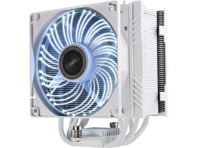 ENERMAX ETS-T50A-WVS Twister Aluminum 120mm White CPU Cooler with DFR (Dust