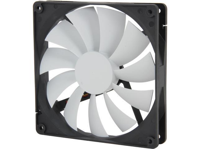Fractal Design Silent Series R2 140mm Silence Optimized Hydraulic Bearing Black White Computer Case Fan Newegg Com