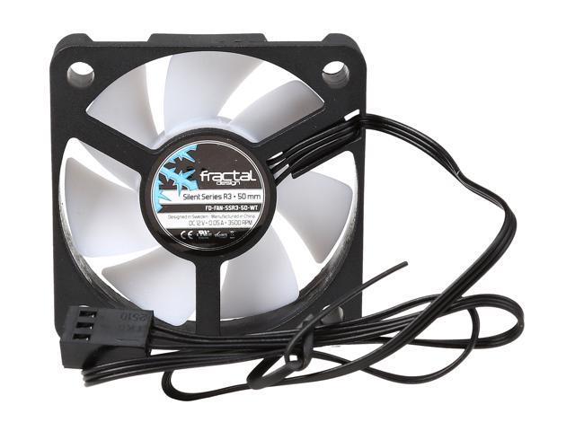 50mm White Blade Cooling Fan Fractal Design Silent Series FD-FAN-SSR3-50-WT