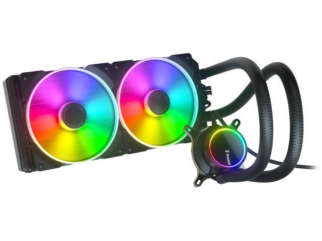Image of Fractal Design Celsius+ S28 Prisma PWM ARGB 280mm Silent Performance Slim Radiator AIO CPU Liquid/Water Cooler