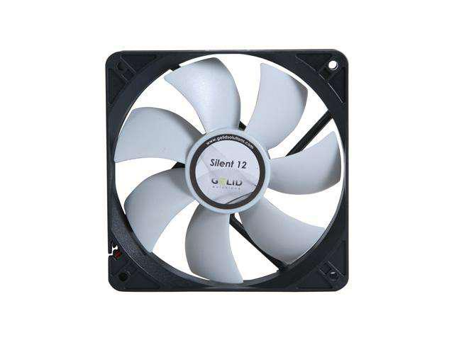 20.2 dBA 37 CFM 2 x GELID Solutions Silent 12 120mm Case Fans 1000 RPM